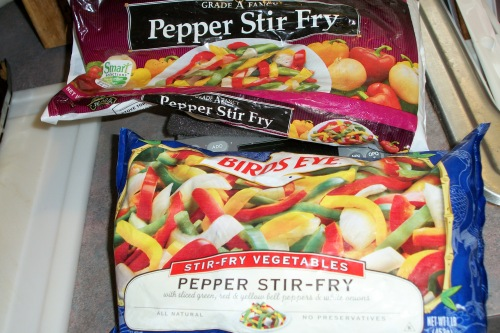 Pepper Stir-fry