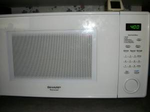 Microwave 4 minutes per ear