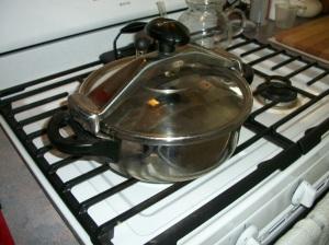 My 3 Liter pressure cooker