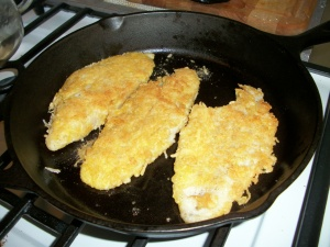 Fried fish doesn't have to be greasy!