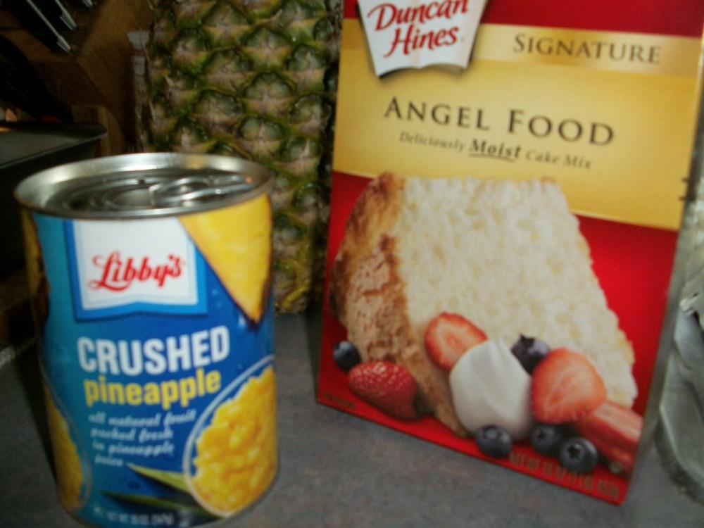PINEAPPLE ANGEL FOOD CAKE (2/5)