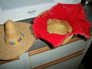 Keep corn tortillas wrapped in a napkin in a basket